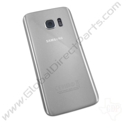 OEM Samsung Galaxy S7 G930F Battery Cover - Silver