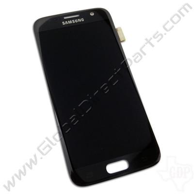OEM Samsung Galaxy S7 AMOLED & Digitizer Assembly - Black