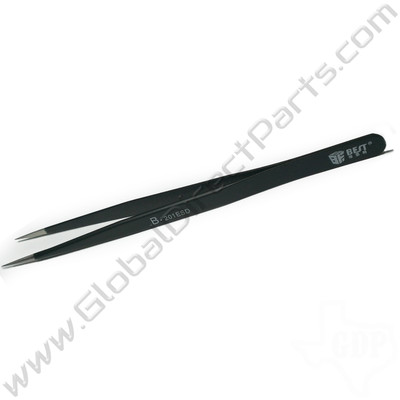Best Non-Magnetic Super Fine Tipped Tweezer [201ESD, 140 mm]