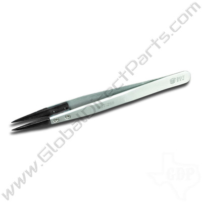 Best Non-Magnetic Super Fine Tipped Tweezer [ESD-259A, 128 mm]