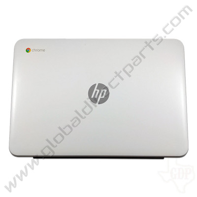 OEM Reclaimed HP Chromebook 14-AK013DX LCD Cover [A-Side] - Silver [830859-001]