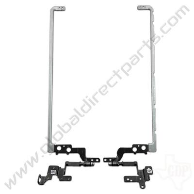 OEM HP Chromebook 14-AK013DX, G4 Metal Hinge Set [830872-001]
