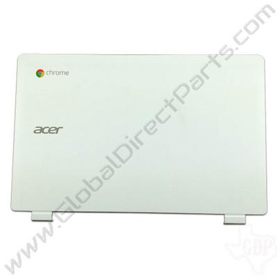 OEM Reclaimed Acer Chromebook 11 CB3-111 LCD Cover [A-Side] - White
