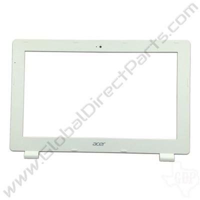 OEM Reclaimed Acer Chromebook 11 CB3-111 LCD Frame [B-Side] - White