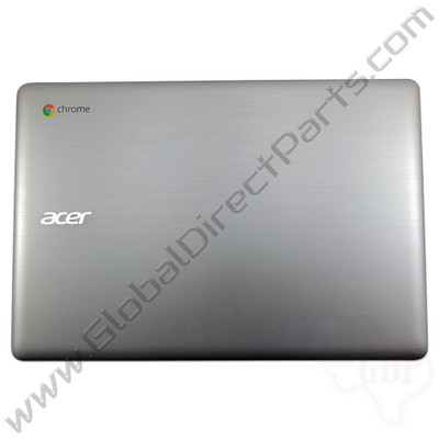 OEM Reclaimed Acer Chromebook 14 CB3-431 LCD Cover [A-Side] - Silver