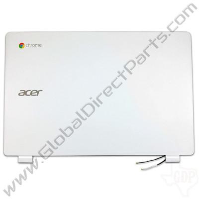 OEM Reclaimed Acer Chromebook 13 CB5-311 LCD Cover [A-Side] - White