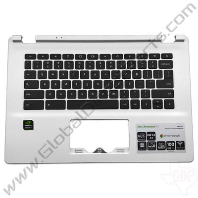 OEM Reclaimed Acer Chromebook 13 CB5-311 Keyboard [C-Side] - White