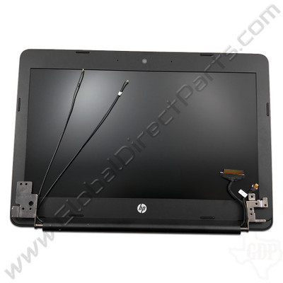 OEM Reclaimed HP Chromebook 11 G5 Complete LCD Assembly [Non-Touch] - Black [901788-001]