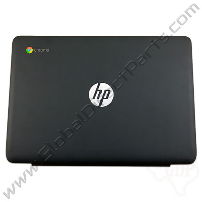 OEM Reclaimed HP Chromebook 11-V011DX LCD Cover [A-Side] - Black [906716-001]