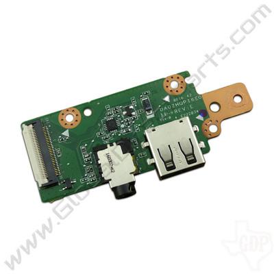 OEM Acer Chromebook C730 USB & Audio Jack PCB [DA0ZHQPI6E0]