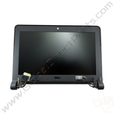 OEM Reclaimed Dell Chromebook 11 CRM3120 Complete LCD Assembly - Black [Non-Touch]