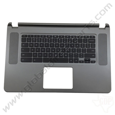 OEM Reclaimed Acer Chromebook 15 CB3-531 Keyboard [C-Side] - Gray [EAZRF003030]