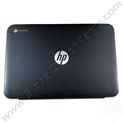 OEM Reclaimed HP Chromebook 11 G3, G4 LCD Cover [A-Side] - Black [794732-001]