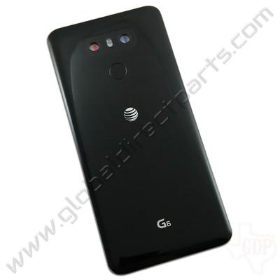 OEM LG G6 H871 Battery Cover Assembly - Black