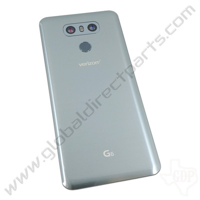 OEM LG G6 VS988 Battery Cover Assembly - Silver
