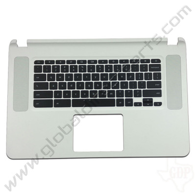 OEM Reclaimed Acer Chromebook 15 CB5-571 Keyboard [C-Side] - White [EAZRF003030]