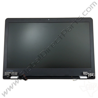 OEM Reclaimed Lenovo ThinkPad 13 Chromebook Complete LCD Assembly [Non-Touch] - Black