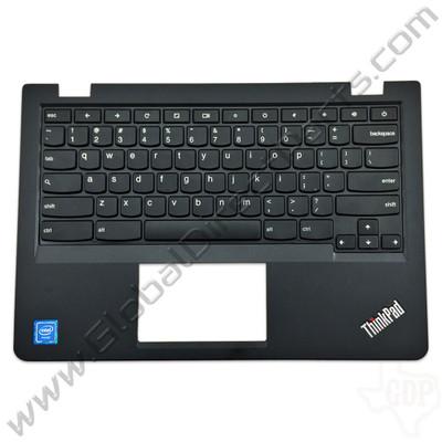 OEM Lenovo ThinkPad 13 Chromebook Keyboard [C-Side] - Black