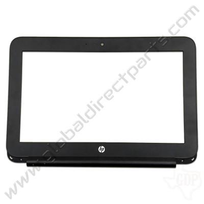 OEM HP Chromebook 11 G5 EE LCD Frame [B-Side] - Black [917430-001]