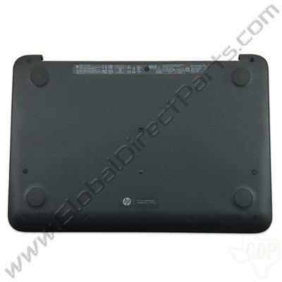 OEM HP Chromebook 11 G5 EE Bottom Housing [D-Side] - Black [917428-001]