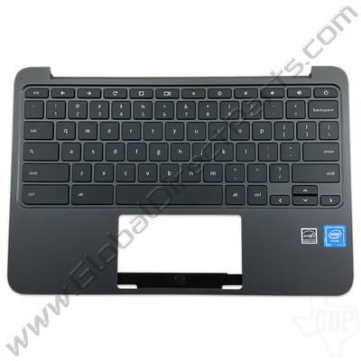 OEM Reclaimed HP Chromebook 11 G5 EE Keyboard [C-Side] - Black [917442-001]