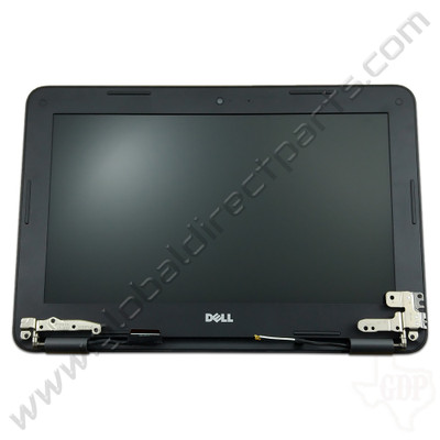 OEM Dell Chromebook 11 3180 Education Complete LCD Assembly - Black [Non-Touch]