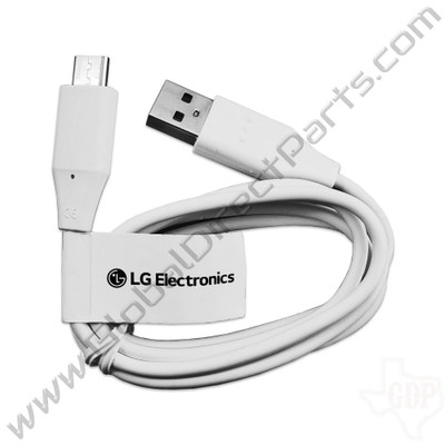 OEM LG Type-A to Type-C Charging Cable [Round]
