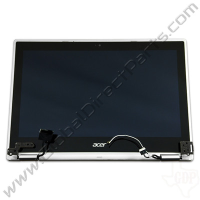 OEM Acer Chromebook C738T, CB5-132T Complete LCD & Digitizer Assembly - White