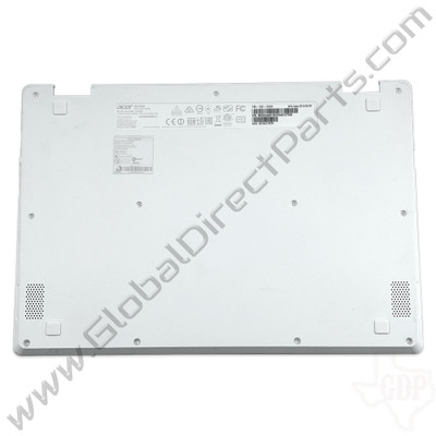 OEM Reclaimed Acer Chromebook C738T, CB5-132T Bottom Housing [D-Side] - White