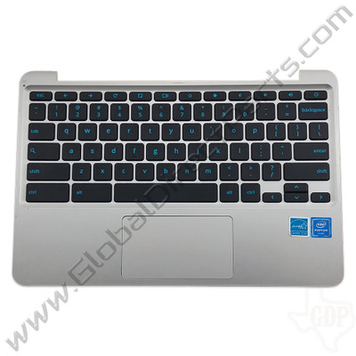 OEM Reclaimed Asus Chromebook C202S Keyboard with Touchpad [C-Side] - Gray
