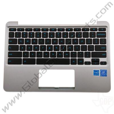 OEM Reclaimed Asus Chromebook C202S Keyboard [C-Side] - Gray