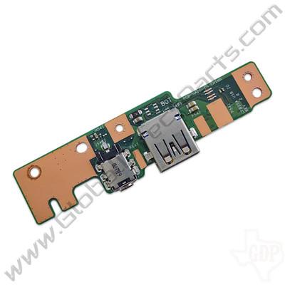 OEM Asus Chromebook C202S Charge Port & USB PCB
