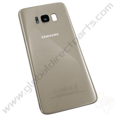 OEM Samsung Galaxy S8 G950F Battery Cover - Gold