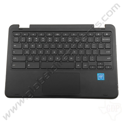 OEM Reclaimed Dell Chromebook 11 3189 Education Keyboard with Touchpad [C-Side] - Black