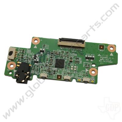OEM Lenovo N23 Yoga Chromebook Power / Volume Key & Audio Jack PCB
