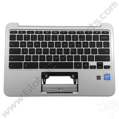 OEM HP Chromebook 11 G3, G4 Keyboard [C-Side] - Silver [788639-001]