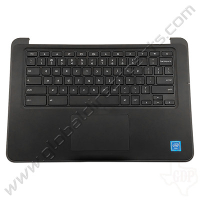 OEM Reclaimed Dell Chromebook 13 3380 Education Keyboard with Touchpad [C-Side] - Black