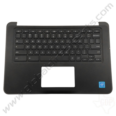OEM Reclaimed Dell Chromebook 13 3380 Education Keyboard [C-Side] - Black