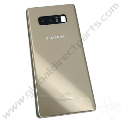 OEM Samsung Galaxy Note 8 N950F Battery Cover - Gold