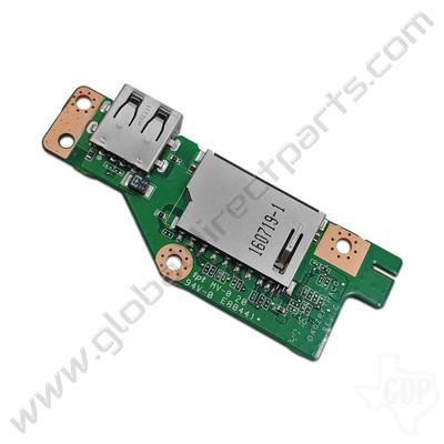 OEM Acer Chromebook C910 USB & SD Card Reader PCB