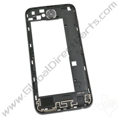 OEM LG X Charge Rear Housing Assembly - Black [ACQ90252401]