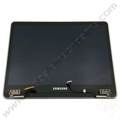 OEM Samsung Chromebook Plus XE513C24 Complete LCD & Digitizer Assembly - Silver