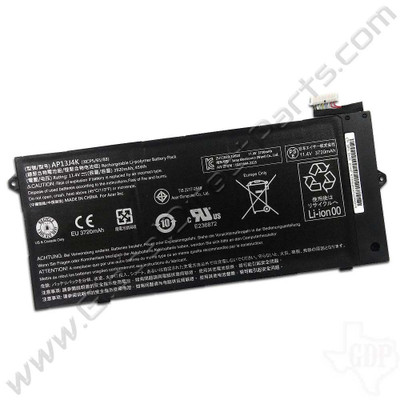 OEM Reclaimed Acer Chromebook C720, C720P, C740, CB3-431, CP5-471 Battery [AP13J4K]
