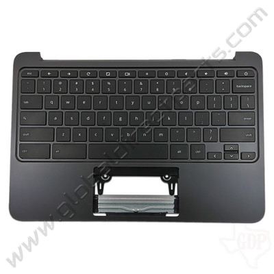 OEM Reclaimed HP Chromebook 11 G4 EE Keyboard [C-Side] - Black [851145-001]