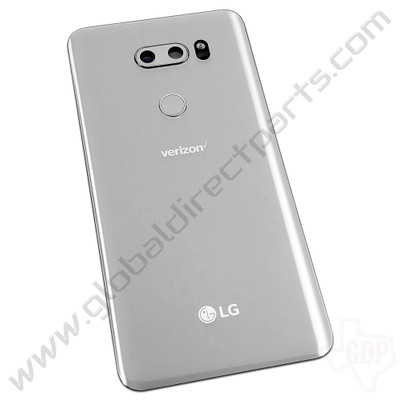 OEM LG V30 H931 Battery Cover - Silver [ACQ89641902]