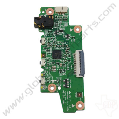 OEM Lenovo 300e Chromebook, C330 Chromebook Power, Volume & Audio Jack PCB