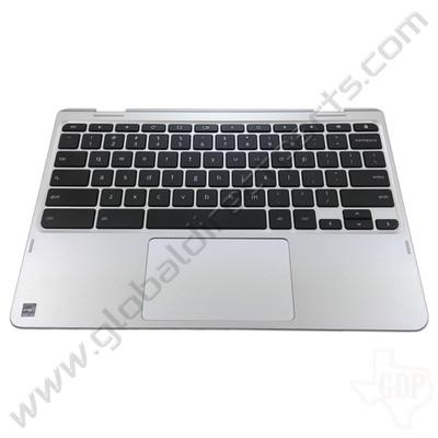 OEM Lenovo Flex 11 Chromebook ZA27 Keyboard with Touchpad [C-Side] - Silver