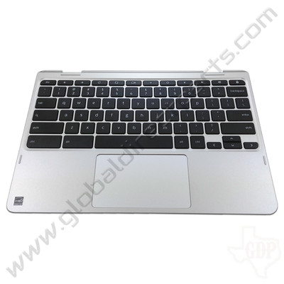 OEM Reclaimed Lenovo Flex 11 Chromebook ZA27 Keyboard with Touchpad [C-Side] - Silver