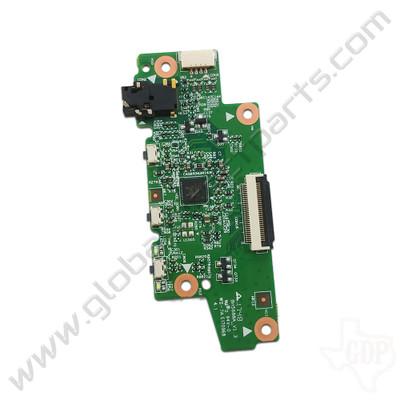 OEM Lenovo Flex 11 Chromebook ZA27 Power, Volume & Audio Jack PCB