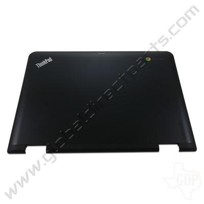OEM Lenovo ThinkPad Yoga 11e Chromebook 4th Gen LCD Cover [A-Side] - Black
